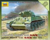 """Модель сборная """"советский средний танк т-34/76"""", Звезда"""
