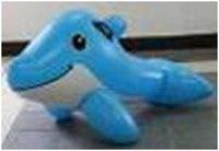 Надувной дельфин с ручками, sammer escapes