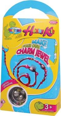 """Набор hobby kit """"сделай украшения: кольцо, браслет, ожерелье, брелок"""", CENTRUM"""
