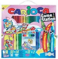 Набор для рисования. game station colour, Carioca
