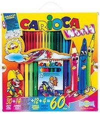 Набор для рисования. world, Carioca