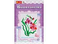 """Вышивка лентами """"весенние цветы"""", Ranok Creative"""