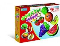 """Гипс на магнитах """"фрукты & овощи"""", Ранок"""