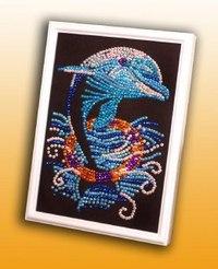 """Мозаика из пайеток """"дельфин"""", Волшебная мастерская"""
