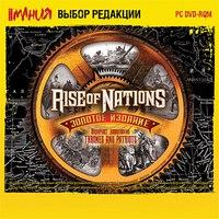 Dvd. rise of nations. золотое издание, Новый диск
