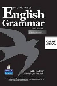 Cd-rom. fundamentals of english grammar. interactive, online version. student access, Pearson