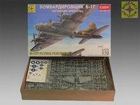 """Сборная модель бомбардировщика б-17 """"летающая крепость"""", Моделист"""