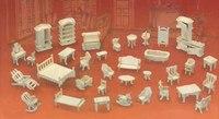 """Сборная деревянная модель """"гарнитур мебельный"""", VGA (Wooden Toys)"""