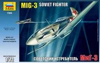 """Сборная модель """"советский истребитель"""", Звезда"""