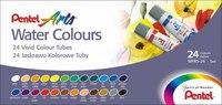 Акварель water colours, 24 цвета, Pentel