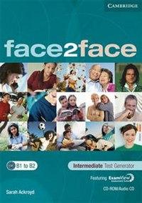 Cd-rom. face2face. intermediate. test generator, Cambridge University Press