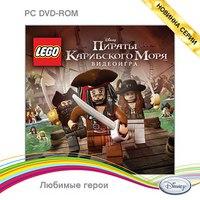 Dvd. lego. пираты карибского моря, Новый диск