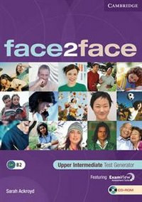 Cd-rom. face2face. upper intermediate. test generator, Cambridge University Press