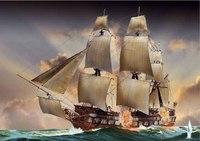 "Сборная модель корабля ""bonhomme richard"", Revell (Ревелл)"