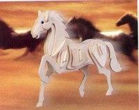 """Модель деревянная сборная """"лошадь"""", VGA (Wooden Toys)"""