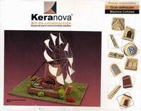 """Конструктор из обожженной глины """"ветряная мельница"""", Keranova"""