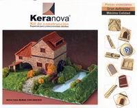 """Конструктор из обожженной глины """"дом с мельницей"""", Keranova"""