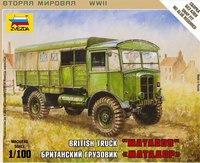 """Сборная модель британский грузовик """"матадор"""", Звезда"""