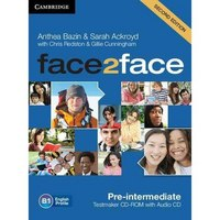 Cd-rom. face2face pre-intermediate (+ audio cd), Cambridge University Press