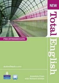 Cd-rom. new total english pre. intermediate active teach, Pearson