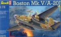 "Сборная модель ""самолет бомбардировщик boston mk. iv/v"", Revell (Ревелл)"