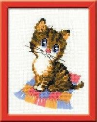 """Набор для вышивания """"котенок"""", Риолис"""