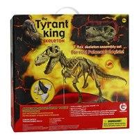 """Сборная модель """"скелет тиранозавра рекса"""", 54 элемента, Geoworld"""
