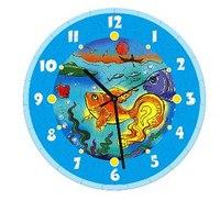 """Бумажная модель """"часы. золотая рыбка"""", Умная бумага"""