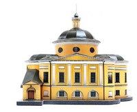 """Сборная модель из картона """"покровский храм"""", Умная бумага"""