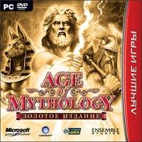 Dvd. age of mythology. золотое издание, Новый диск