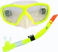 Набор для подводного плавания , желтый, Atemi