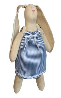 """Набор для изготовления текстильной игрушки """"зайка раиса"""", высота 29 см, Кустарь"""