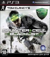 Blu-ray. tom clancy's splinter cell: blacklist. upper echelon edition (ps3), Новый диск
