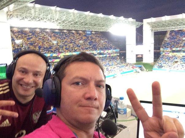 Генич и Черданцев будут комментировать матч сборных России и Швеции