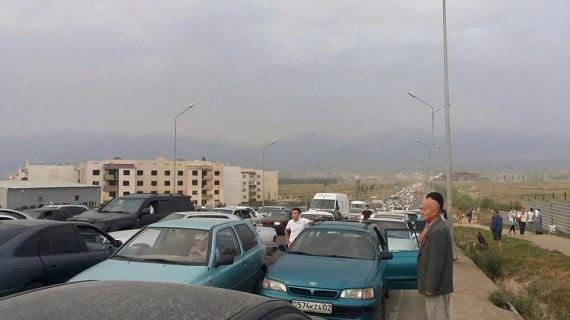 Алматының Наурызбай ауданында сел жүрді (фото, видео)