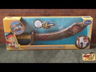 Джейк и пираты Нетландии Jake and the Never Land Pirates Hidden Treasure 5 in 1 Sword