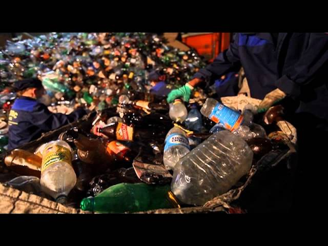 Как это работает - Переработка мусора в России