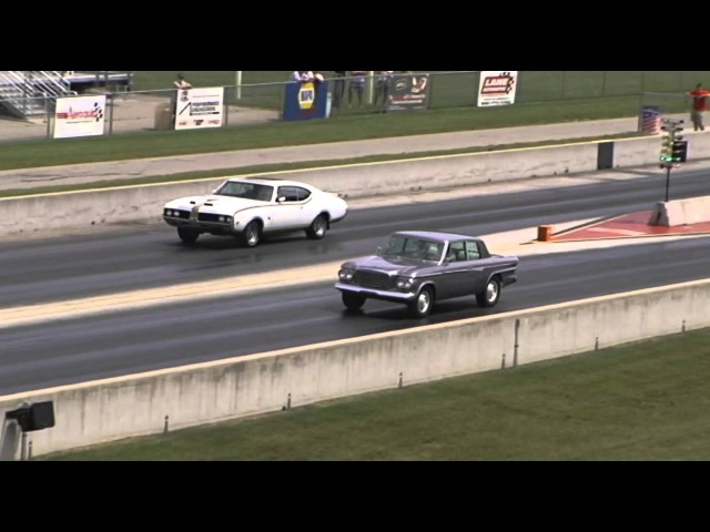 1969 Hurst Olds vs 1963 Lark R1