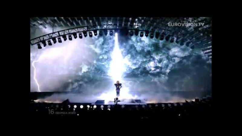 Nina Sublatti - Warrior (Georgia) - LIVE at Eurovision 2015: Semi-Final 1