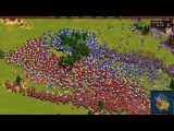 Cossacks back to war gameplay [KGR] CatweaZeL vs [KAZ] jackie