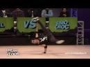 Bboyw0rld Break The Floor 2015 powermove qualifiers C lil VS Simo Croc bboyw0rld
