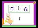 Kindergarten phonics worksheets - words with the short vowel 'i' sound