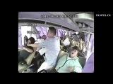 Запись с камер наблюдения: авария автобуса в Китае (vk.com/sisec)