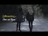 Silhouettes    Emma and Regina
