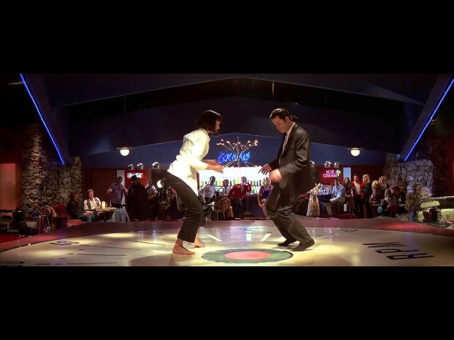 Ума Турман и Джон Траволта танец!