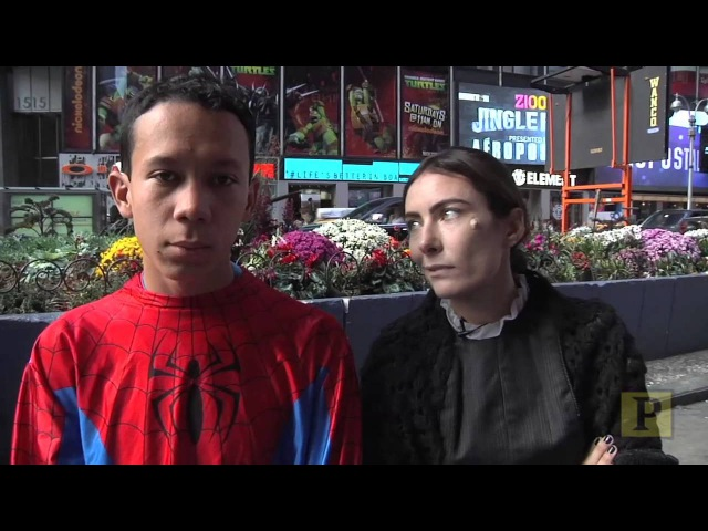 LIFE WITH LAURA Laura Benanti is Fosca the New Favorite Times Square Mascot