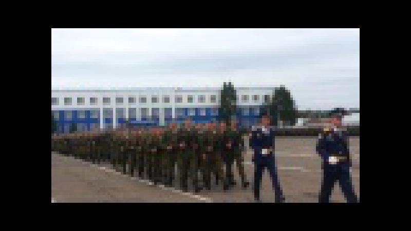 Омск 242 УЦ ВДВ Присяга 11.07.2015