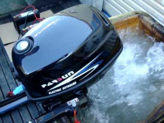 PARSUN 4HP Electric Outboard