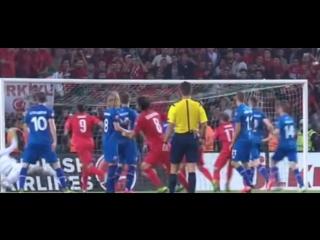 Gol Selcuk Inan - Türkiye - Izlanda 1-0