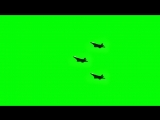 F22 Jet Plane Flying - Green Screen Animation